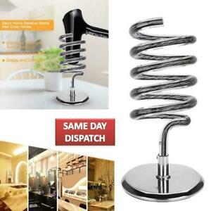 Hair Dryer Stand Storage Organizer Rack Holder Bracket Desktop Hair Dryer Holder