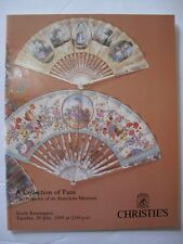 A COLLECTION of FANS Property of an American Museum - Auction catalogue