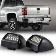 2pcs LED License Plate Light For 2000-2006 Chevy Tahoe Suburban GMC Sierra Yukon