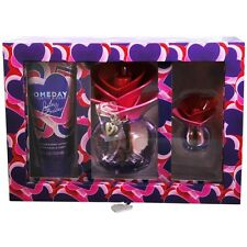 Someday By Justin Bieber Eau de Parfum Spray 3.4 oz & Body Lotion 3.4 oz & Parfu