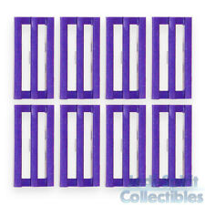 Lego Tile 1 x 2 Grille Dark Purple Color w/Groove (x8) *NEW*