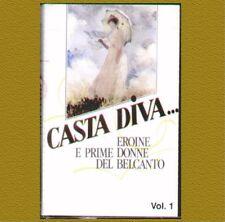 """COMPILATION""""CASTA DIVA, EROINE E PRIME DONNE VOL.1"""" MC MUSICASSETTA  SIGILLATA"""