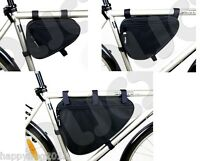 Bicycle Bike Cycle Frame Bag Case Pannier Pouch Various Sizes NEW MADE IN EU TR