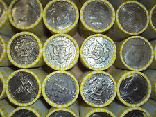 10 Unsearched Kennedy Half Dollar Rolls Hunt For Silver Free Shipping