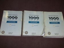 1999 PONTIAC GRAND PRIX Service Shop Workshop Repair Manual Set OEM GM Factory