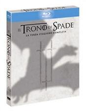 IL TRONO DI SPADE STAGIONE 3 5 BLU-RAY SIGILLATO - EDIZIONE ITALIANA HBO