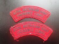 Royal Australian Army Ordnance Corps patch (D)