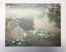 Waterlilies - Claude Monet - Fine Art Giclee Print Poster (24 x 30)