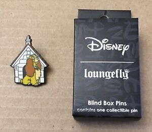 Loungefly Disney Blind Box Pin Lady Disney Doghouse Brand New