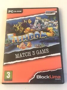 Fishdom Three III Match 3 Games PC DVD-ROM Game Playrix number 13 blacklime
