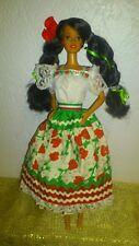 POUPEE BARBIE TERESA MEXICAINE POUPEE DU MONDE 1996