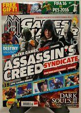 Games Master Assassin's Creed Dark Souls III Destiny Nov 2015 FREE SHIPPING JB
