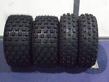22x7-10 & 20x10-9 ATV TIRE SET (All 4 Tires) Kawasaki KFX400 450R Suzuki LTZ400