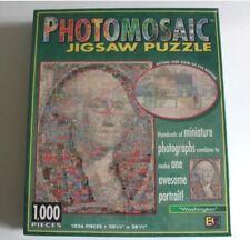 """Photomosaic George Washington 1026 Piece Jigsaw Puzzle New Sealed 20.25"""" X 28.5"""""""