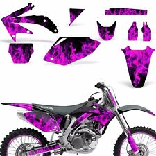 Decal Graphic Kit Honda CRF 450 R Dirt Bike Sticker Backgrounds 05-08 ICE PINK