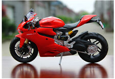 1/12 Maisto Diecast Motorcycle Bike Collectible Toy For Ducati 1199 Panigale Red