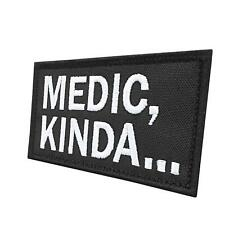Medic Kinda 2x3 25 morale tactical military parche hook patch
