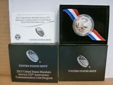 2015 US Marshals Service 225th Anniversary Proof Half Dollar Commemorative Coin