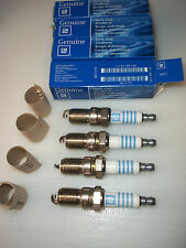 4 x Ford KA , Escort , Fiesta etc .BOSCH HR7DCX  SPARK PLUGS Genuine GM27