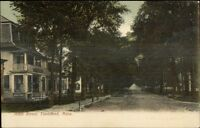 Townsend MA Main St. c1910 Postcard