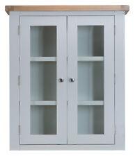 Hartwell Grey Painted Small Dresser Top / Hutch / 85cm 30cm 100cm
