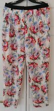 EMANUEL UNGARO Silk Floral Pleated Pants NWT $995 Size 10