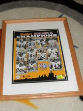 PITTSBURGH STEELERS matted & framed Super Bowl XL Champions picture