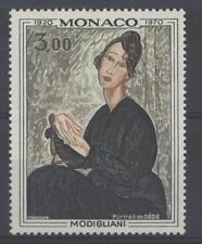 MONACO - 1970 - Cinquantenario della morte di Amedeo Modigliani