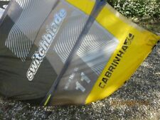2019 Cabrinha Switchblade Kite 11m  used very little with Bar and Bag
