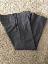 NEW Dockers Women's Gray Cropped Capri Pants Size 8P