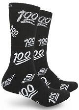 Pacote com 2 meias centenas de impressão meias Cano Alto Tema para homens e mulheres Extra Conforto