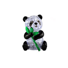 Cute Panda Model Puzzle Crystal Puzzle Popular Kids Toys DIY Toy Kids 3D Gifts