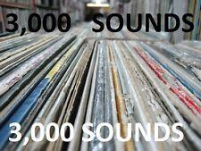 DJ Muggs 3000 Drum Sound Kit Vinyl Samples Drum Machine Reason sp1200 ASR10 MPC