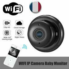HD mini caméra IP espion sans fil Wifi 1080P caméscope caché vision nocturne