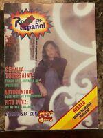 ROCK EN ESPAÑOL MAGAZINE No 16 FEB 1989 CECILIA TOUSSAINT / FITO PAEZ / MICRO CH