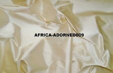 SCALAMANDRE SHANGRI-LA SILK FABRIC 10 YARDS CREME DE LA CREME /PEARLY CREAM
