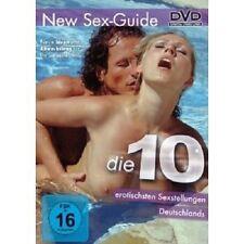DIE 10 EROTISCHSTEN SEXSTELLUNGEN DEUTSCHLANDS  DVD DOKUMENTATION EROTIK NEU