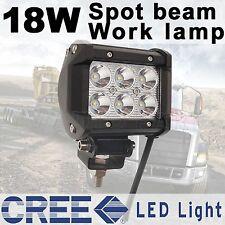 "4"" CREE LED work light 18W 12V 24V Spot Pencil Driving lamp Car SUV Boat Truck"