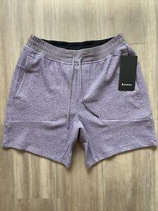 "Lululemon Mens Shorts At Ease Short 7"" Medium"
