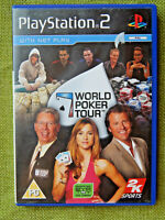 World Poker Tour (Sony PlayStation 2, 2005, PAL, PS2, Game, Manual)