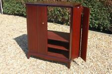 Quality Stag Minstrel Large TV Media Storage Cabinet Bifold Doors