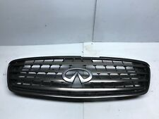 2002 2003 2004 Infiniti Q45 Grill Grille With Emblem Good Clean Factory OEM
