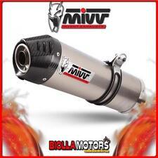 B.003.LNC SCARICO MIVV OVAL BMW K 1200 R / S / GT 2005- TITANIO/CARBONIO