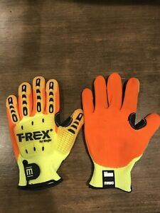 T Rex Impact Gloves Size Medium