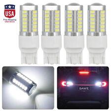 4pcs Super White Canbus 7443 7440 7444 33smd Led Back Up Reverse Light Bulbs Us
