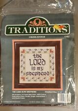 traditions cross stitch the lord is my sheperd 5x5