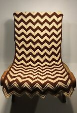 Vintage Danish Modern Style of Hans Wegner Wood Frame Rope Lounge Chair Cover