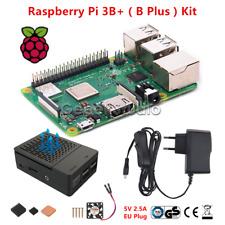 NEW Raspberry Pi 3 Model B+ Starter Kit + Case + Cooling Fan Kit  + Power Supply