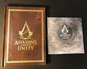 The Art Book of Assassin's Creed Unity + Original Soundtrack CD [ NO Game ] NEW