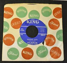 James Brown & The Famous Flames King 6086 Kansas City and Stone Fox EX